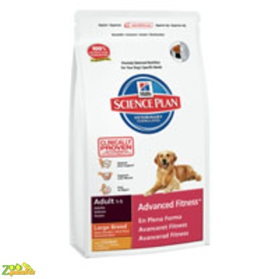 Сухой корм для собак крупных пород Курица Hills SP Adult Advanced Fitnes Large Breed Chicken