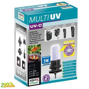 Стерилизатор AquaEl MultiUV 3W (к FAN,FZN,MINI KANI) 107271
