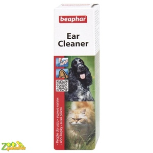 Средство антисептическое чистки ушей у собак и кошек Beaphar Ear Cleaner 50мл арт.12560