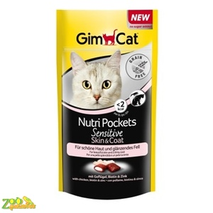 GIMPET Nutri Pockets Sensitive Skin&Coat Для кожи и шерсти 50г-арт.G-418513