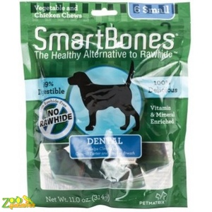 Кость жевательная для собак Hagen Smart Bones Dental Small