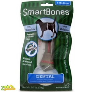 Кость жевательная для собак Hagen Smart Bones Dental Medium