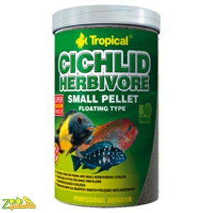 Tropical Cichlid Herbivore Small Pellet 250мл 90г 60854