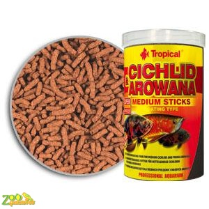 Tropical Cichlid&Arowana Medium Sticks