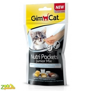 GIMPET NutriPockets Junior Mix Для Котят 60г-арт.G-418261