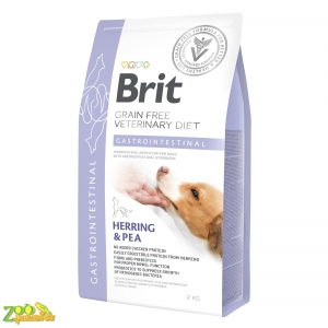 Сухой корм для собак, при заболеваниях желудочно-кишечного тракта Brit GF Veterinary Diet Gastrointestinal (сельдь)