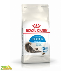 Сухой корм для домашних кошек с длинной шерстью Royal Canin INDOOR LONGHAIR