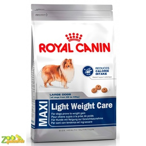 Сухой корм для собак крупных пород склонных к полноте Royal Canin MAXI LIGHT WEIGHT CARE