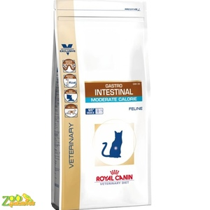Лечебный корм для кошек Royal Canin GASTRO INTESTINAL MODERATE COLORIE FELINE