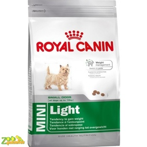 Сухой корм для собак мелких пород склонных к полноте Royal Canin MINI LIGHT WEIGHT CARE