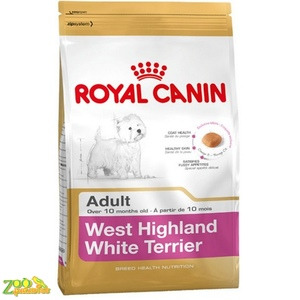 Сухой корм для собак Вест Хайленл Уайт Терьер Royal Canine WESTIE ADULT