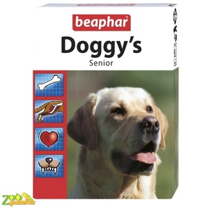 Лакомство для собак старше 7 лет Beaphar Doggy's Senior 75табл. 11519