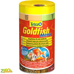 Tetra GOLD FISH Menu